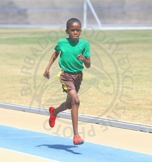 Zachary Wall of Green House slammed all-comers in the Under-11 Boys 200m.