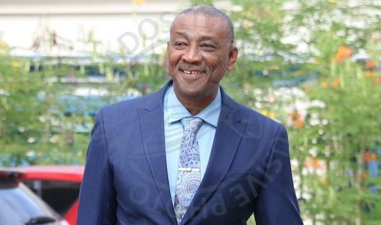 Opposition Leader Joseph Atherley