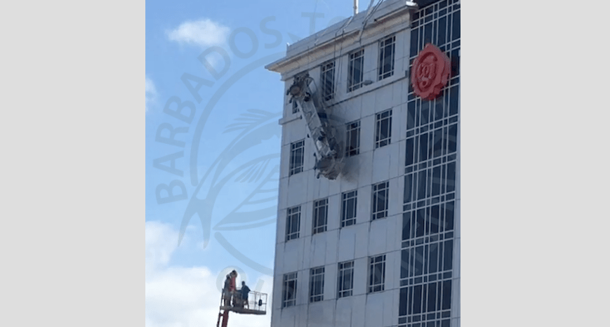 Workers safely rescued