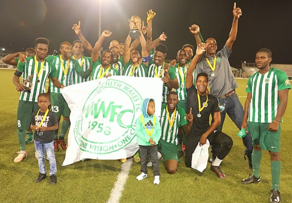 Weymouth Wales came from behind to win the 2019 Barbados Football Association's Knockout Cup against Barbados Defence Force Sports Programme. (Pictures by Morissa Lindsay).