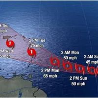 Tropical Storm Warning issued for Barbados