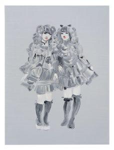 Lolita Goths - Oil on board 2016: 40x30cm