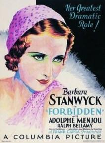 Forbidden (1932) | Barbara Stanwyck
