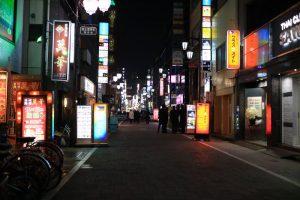 上野二丁目の夜