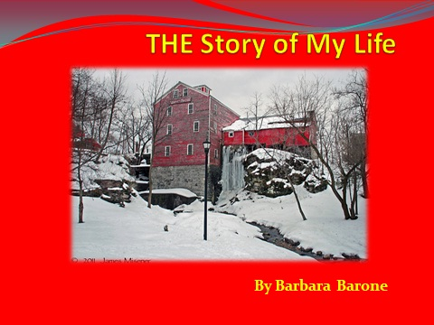 PowerPoint  The Story of My Life Handouts  Barbara