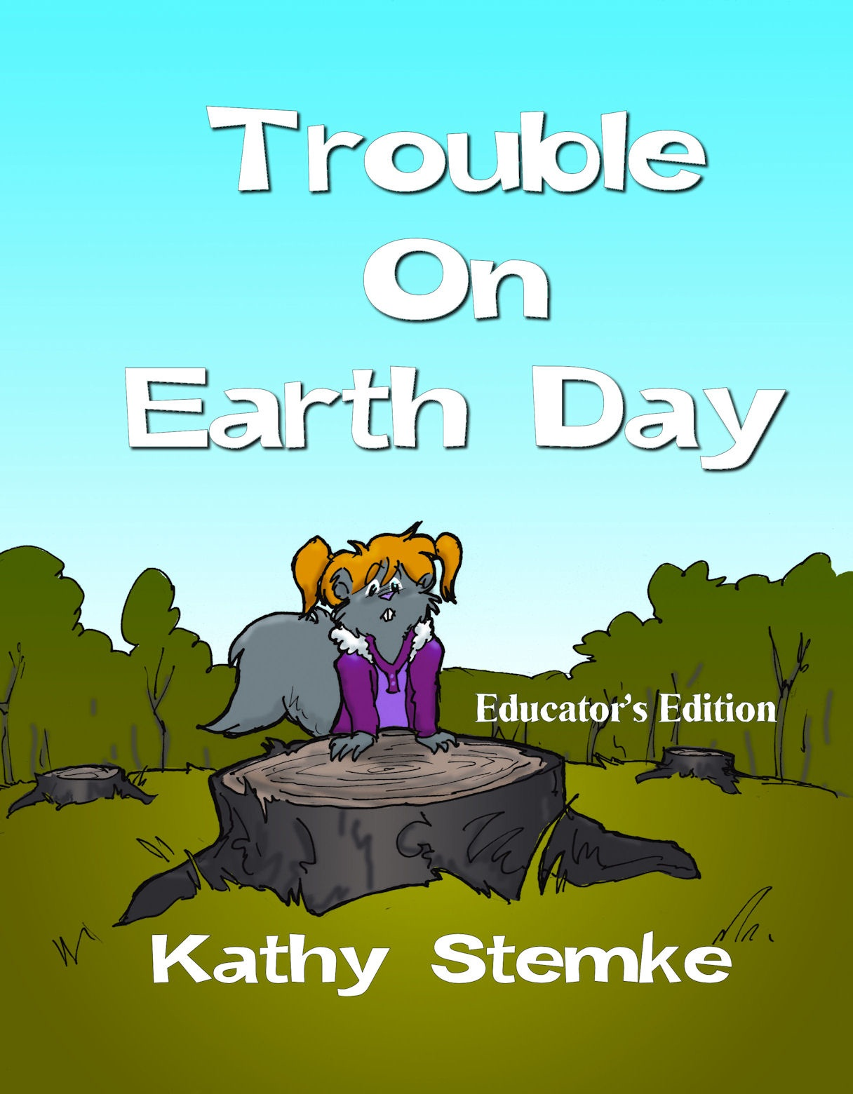 Review Of Kathy Stemke S Pb Trouble On Earth Day