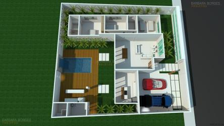 Plantas Casas Modernas Simples