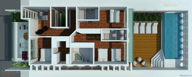 casas pequenas plantas modernas interiores projetos jantar sala tambem pequenos terrenos veja