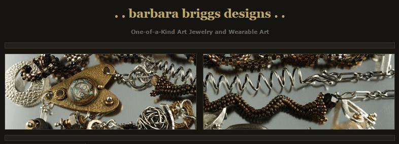 Barbara Briggs Designs Custom Jewelry & Wearable Art