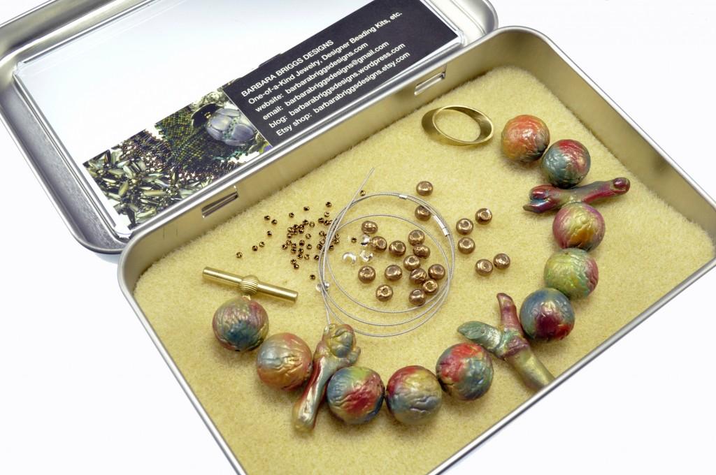 Polymer Clay - Pod and Twig Bracelet Kit