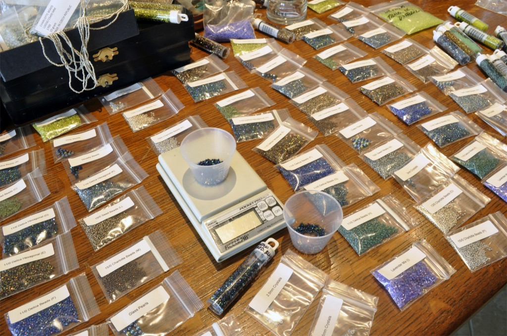 Mermaid Beading Kit Assembly