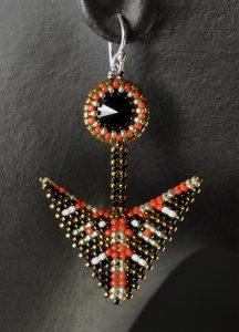 geometric-warped-square-arrow-drop-earrings