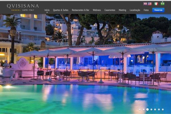Hotel Quisisana in portoghese
