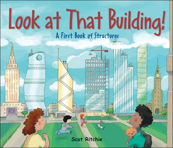Children's Library: 'Look At That Building'