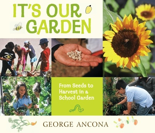"""It's Our Garden, From Seeds to Harvest in a School Garden"" by George Ancona, published by Candlewick Press"