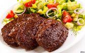 Carne com legumes e verduras