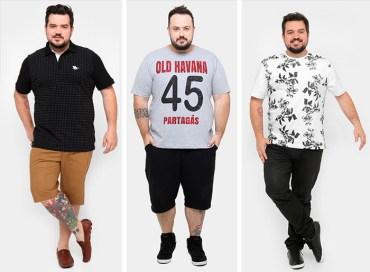 Moda Plus Size Masculina - Estilo Casual Zattini