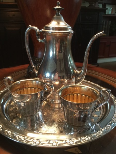 Vintage Silver Coffee Service