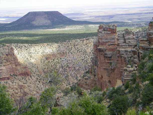 The Desert View at the Desert View Watchtower
