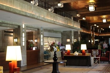 The lobby is fabulous!