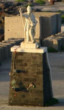 A Statue of San Gennaro