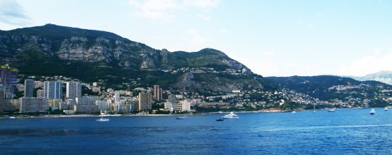 Heading out of Monaco