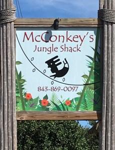barbarakolson.com at McConkey's Jungle Shack in Edisto Beach, SC
