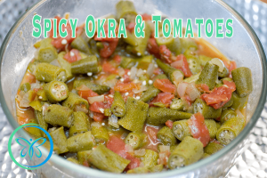 Spicy Okra with Tomatoes