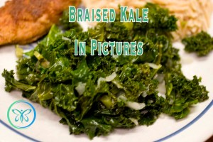 Braised Kale In Pictures