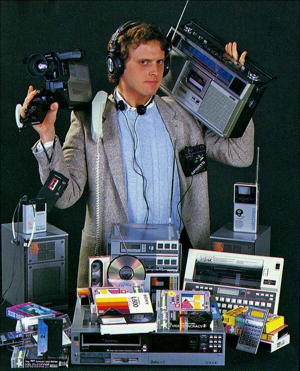 Prima dello smartphone, 1983
