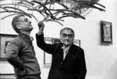 Enrico Cattaneo e Ugo Mulas, Studio Marconi, Milano 1969