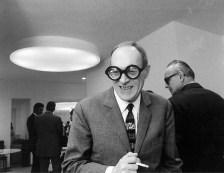 Livio Castiglioni fotografato da Ugo Mulas