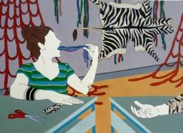 Claudia Matta - Bendaggio a spina di pesce e altre lezioni - Herringbone bandage and other lessons, 2017