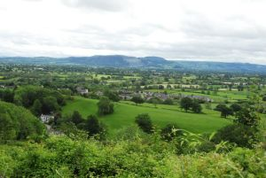 view from Llanymynech hill