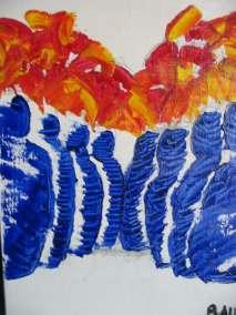 foule-1-acrylique-artiste-peintre