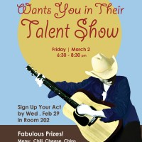 ICSV Class of 2013 Talent Show Poster