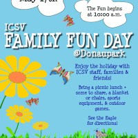 ICSV Family Fun Day Poster Announcement - 2012
