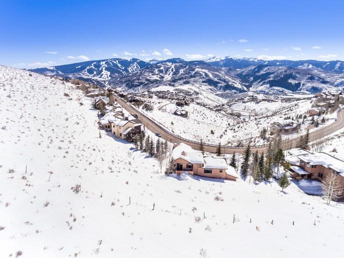 Wildridge Views of Beaver Creek Ski Slopes