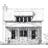 House Plan: The River House - Allison Ramsey Architects