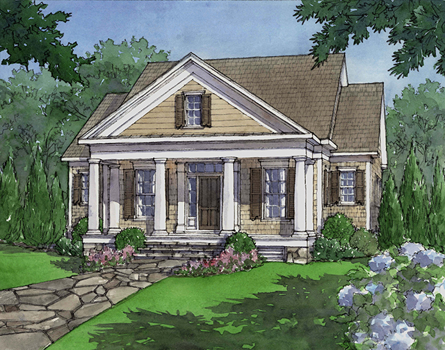 House Plan: Dewy Rose SL1842 By Southern Living House