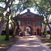 Cistern at the College of Charleston!