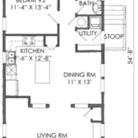 Check out the TNH B 08A Petite Cottage Plan by Moser Design Group!