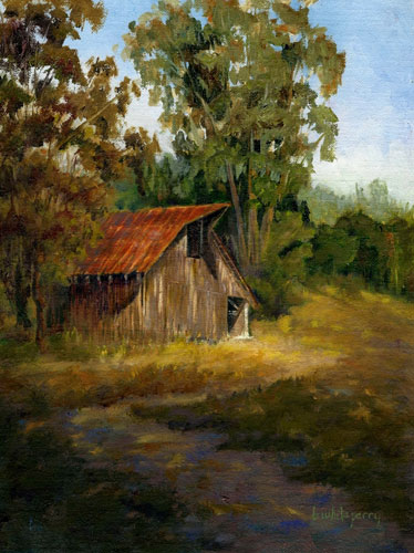 WINE COUNTRY PAINTINGS in Oil  Barbara White Perry