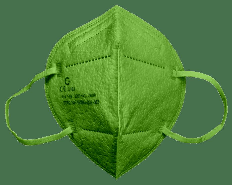 FFP2 Mund-Nasenmaske GIFTGRÜN 10 Stück 19,99