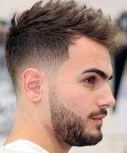 fade haircut handsome men
