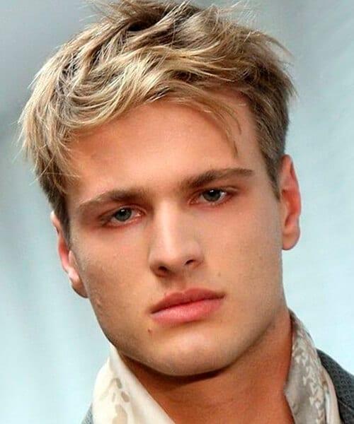 Blonde Hair Styles Men  Big Teenage Dicks