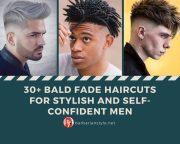 bald fade haircuts stylish