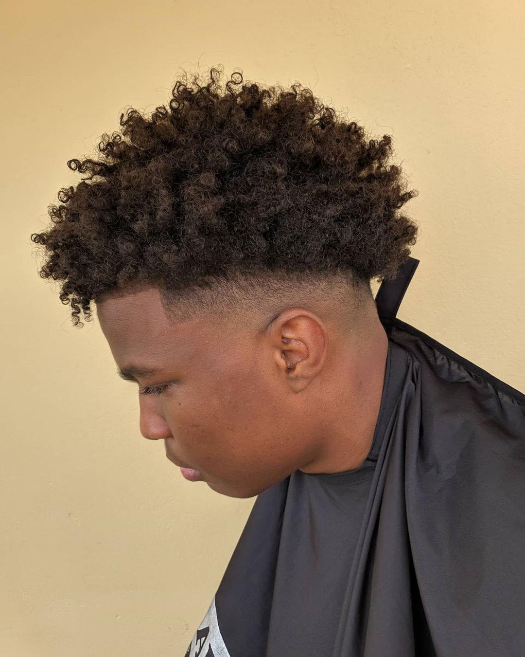 Nappy Afro Taper : nappy, taper, Haircuts, Elegant