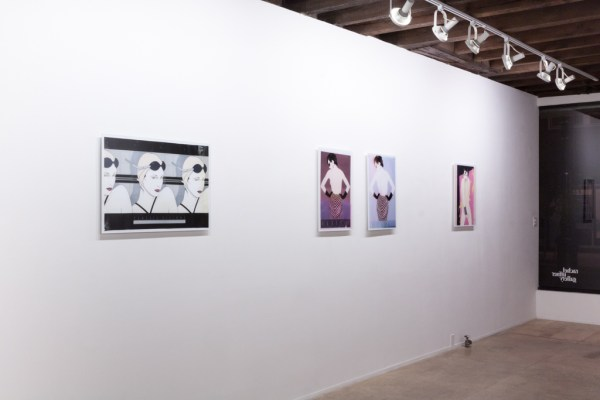 Barb Choit: Nagel Fades, 2009, Rachel Uffner Gallery, New York, NYInstallation view.
