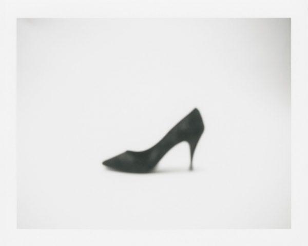 "Barb Choit, ""Shoe #1,"" 2015, Fujifilm FP-100c instant film, 3.25 x 4.25 inches"